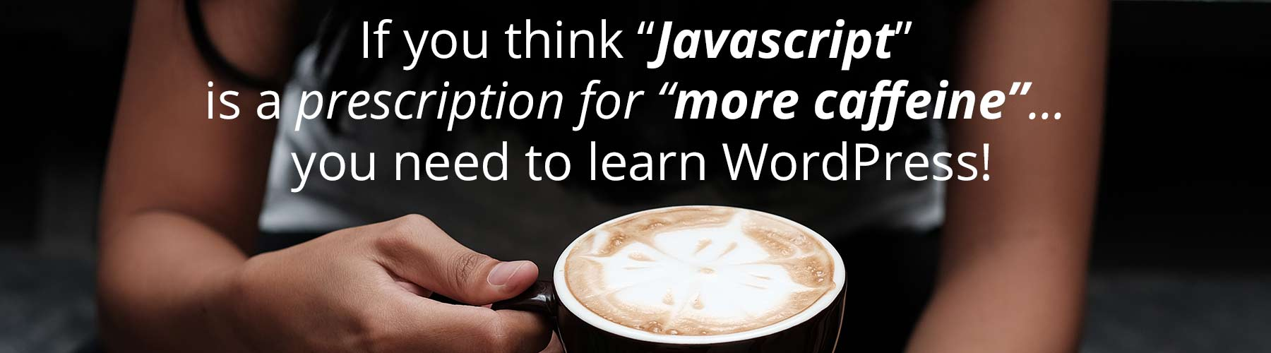 learn how to use Javascript with WordPress